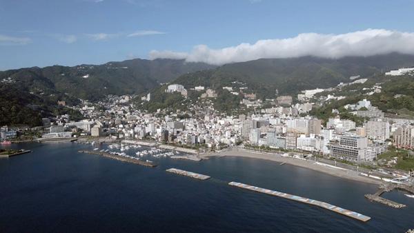 熱海市俯瞰写真